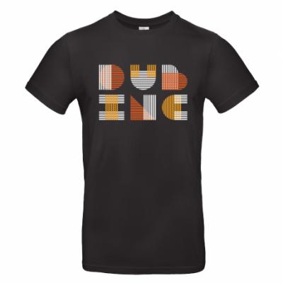 T-shirt Dub Inc Traits Noir