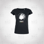 T-shirt Femme Danakil Rasta Noir (Déstockage)