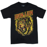 T-shirt Iron Lion Noir