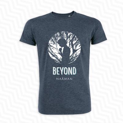 T-shirt Naâman Beyond Bleu Chiné