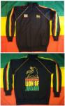 Veste Rasta Conquering Lion of Judah Noire