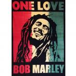 Tenture Bob Marley Rasta One Love 140 x 220 cm