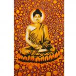 Tenture Space Bouddha Rouge 140 x 210 cm