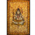 Tenture Tiger Shiva Jaune 140 x 210 cm