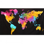 Tenture World Map 140 x 210 cm