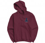 Sweat-shirt capuche Terminal Sound - Selecta Antwan Bordeaux (Nouvelle Collection)